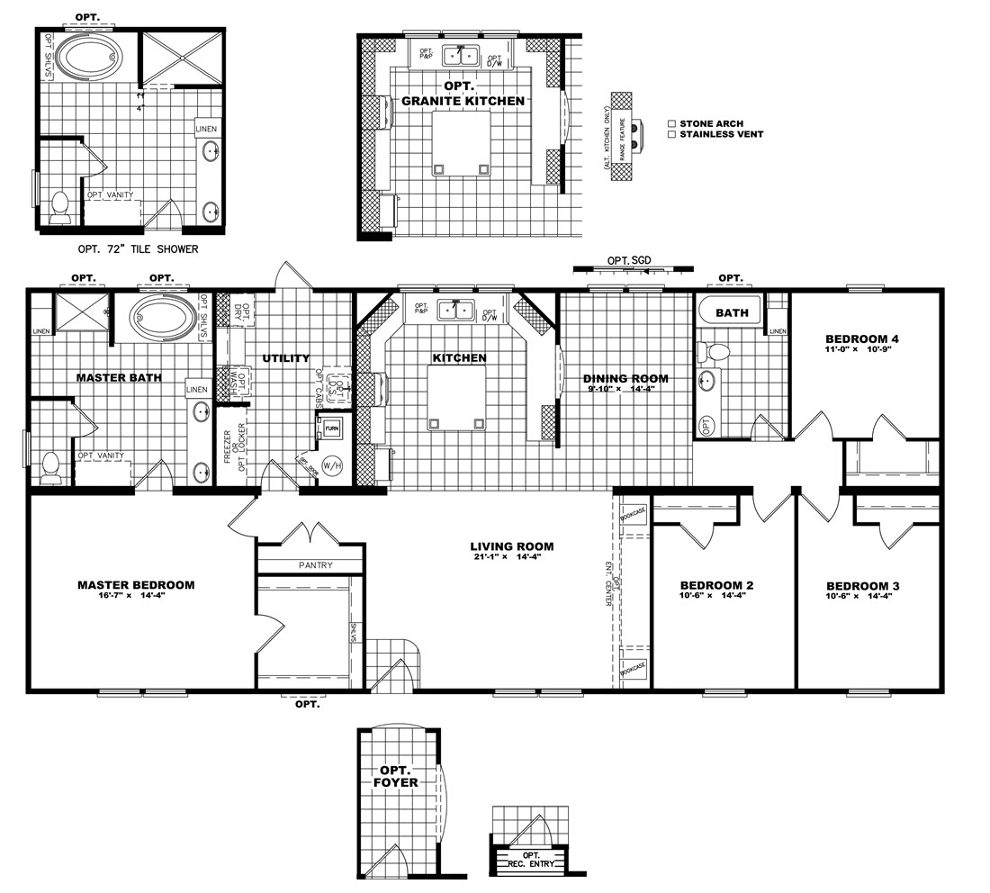 The THE NEWPORT 32 Floor Plan