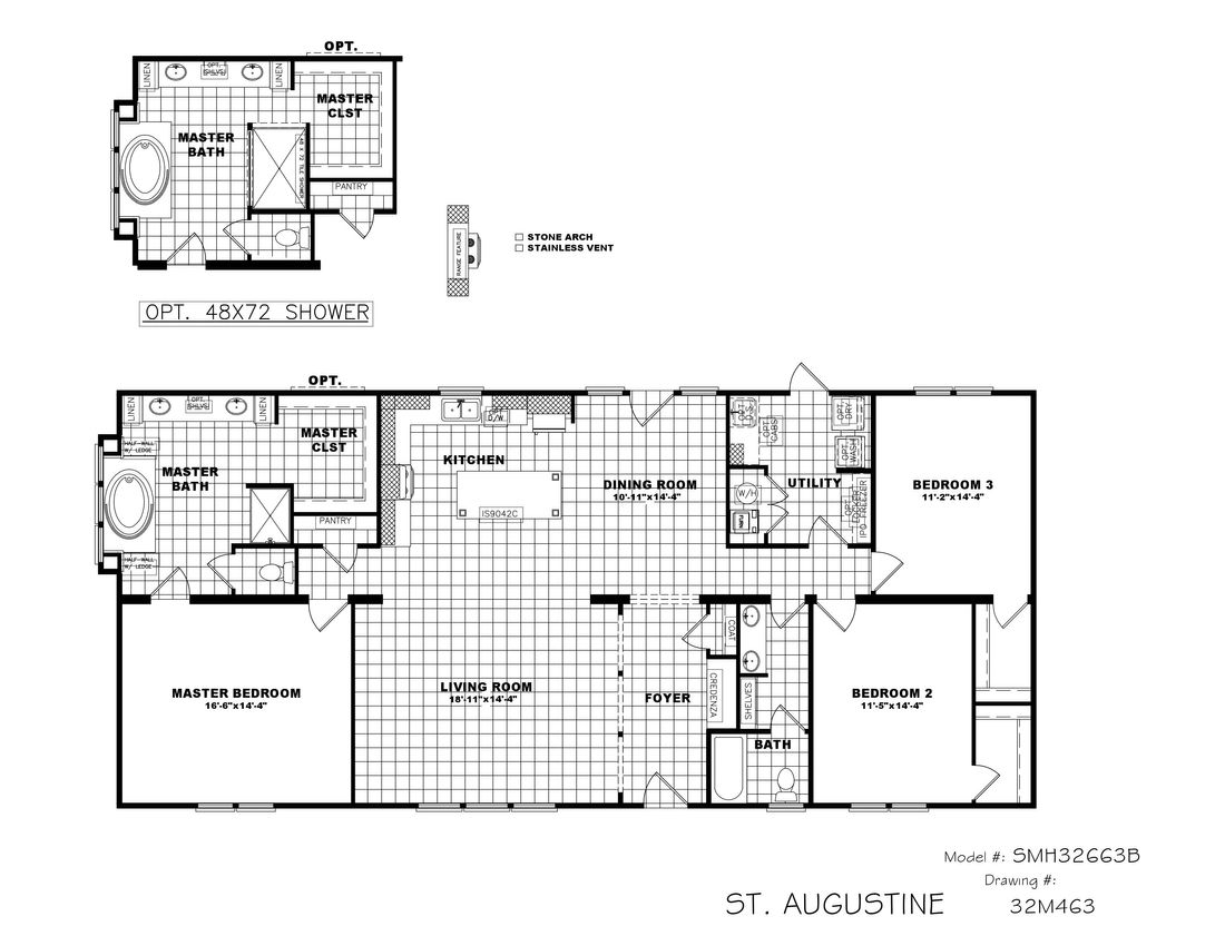 The THE ST AUGUSTINE Floor Plan