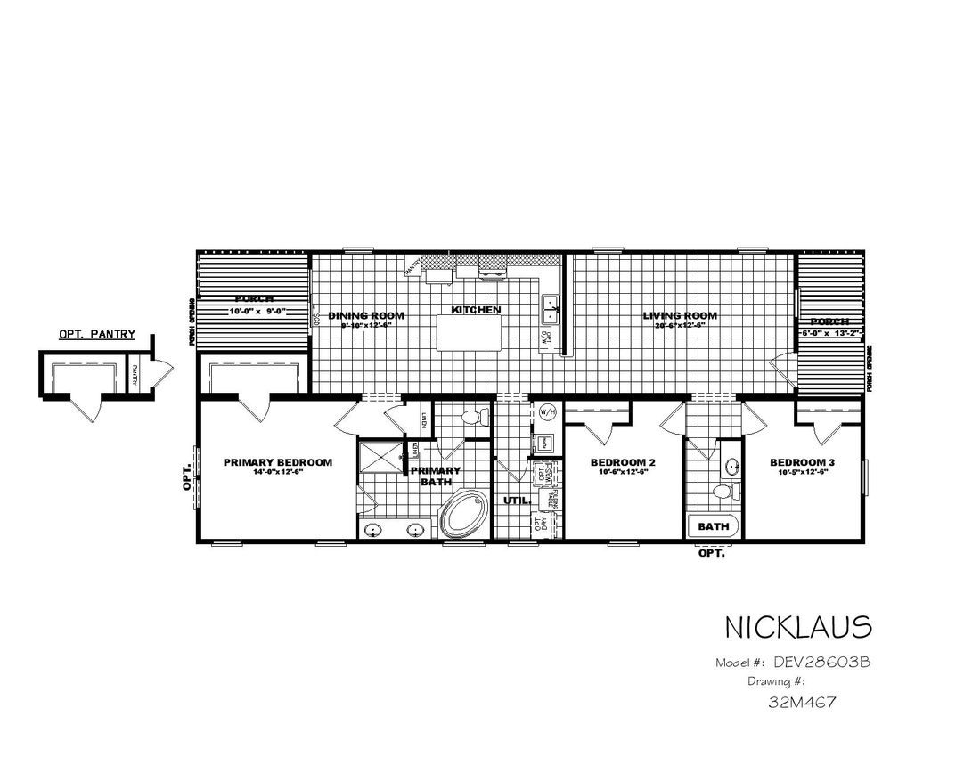 The THE NICKLAUS Floor Plan