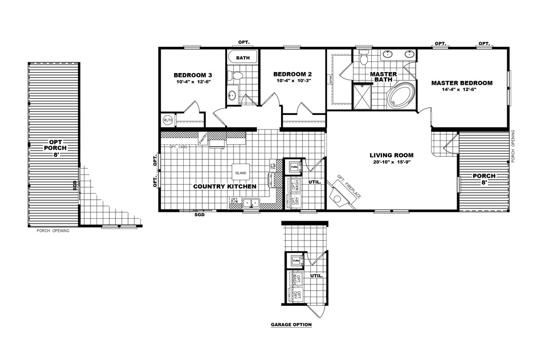 The THE PLAYER 28 Floor Plan