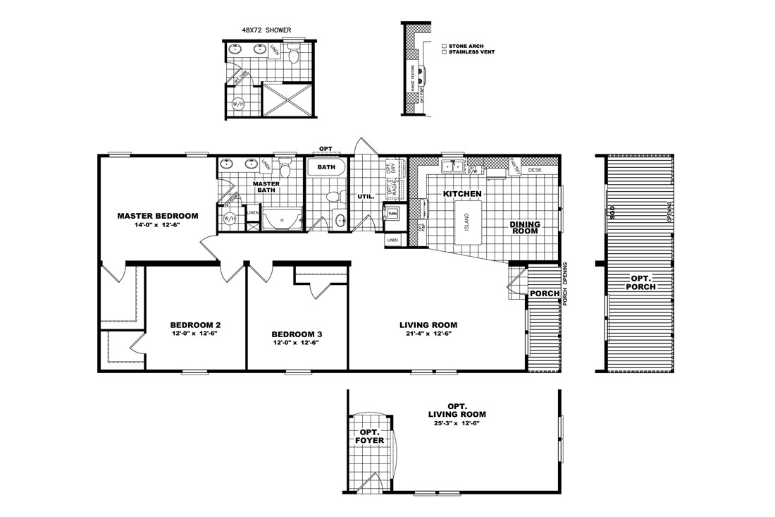 The THE NELSON 28 Floor Plan