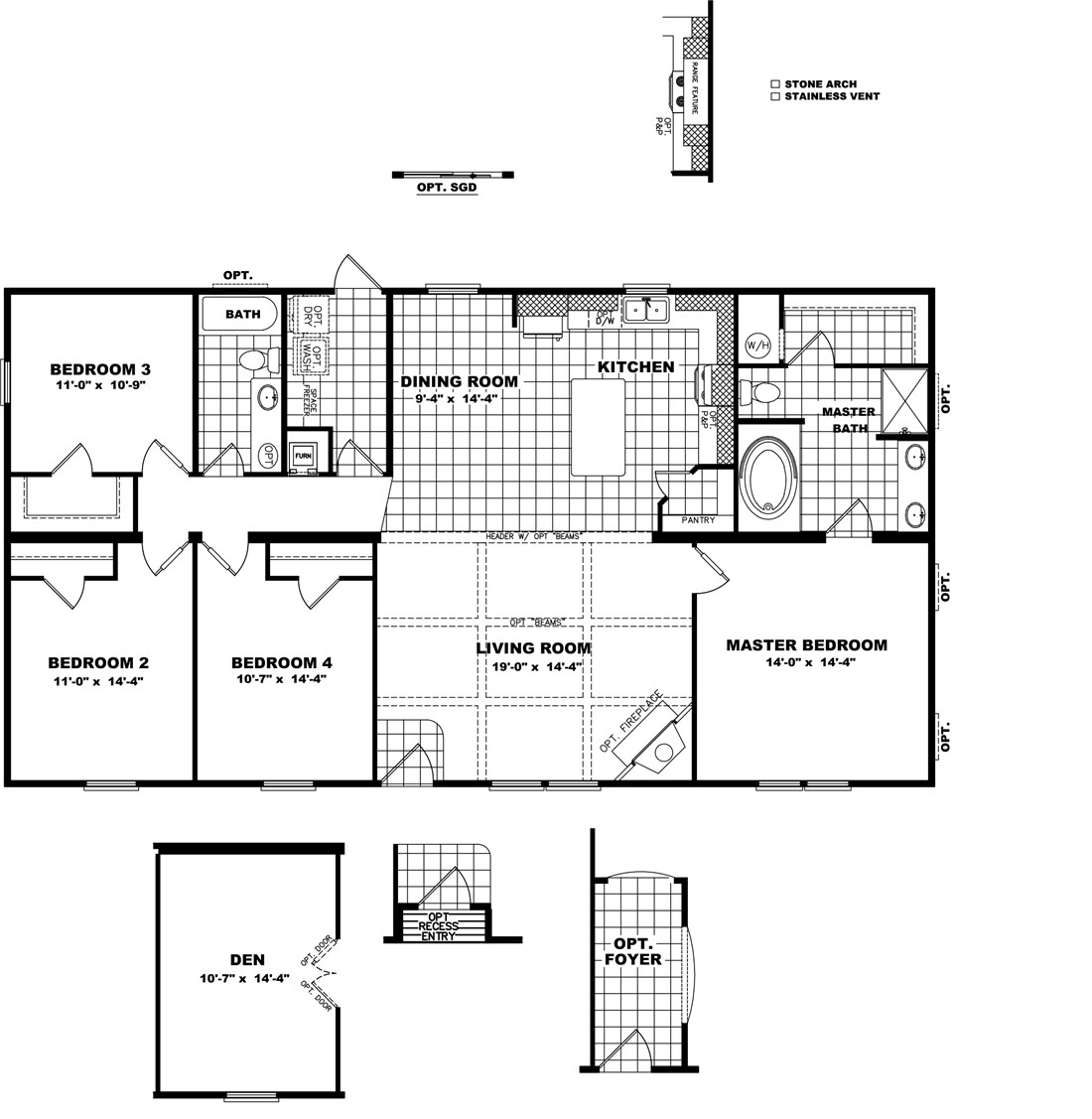 The THE SHILOH Floor Plan